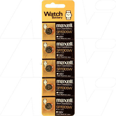 Picture of Maxell SR1130SW watch battery