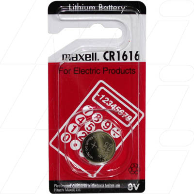 Picture of CONSUMER LITHIUM BATTERY COIN CELL