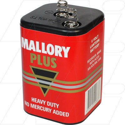 Picture of M908 CONSUMER HEAVY DUTY CARBON ZINC 6V LANTERN BATTERY