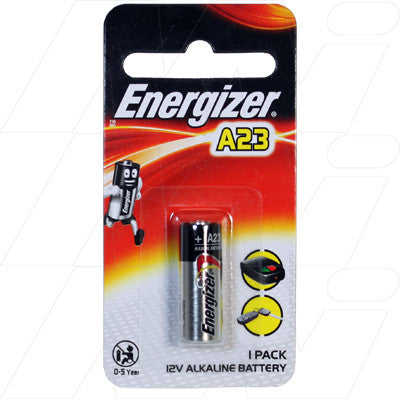 Picture of Energizer A23 alkaline battery