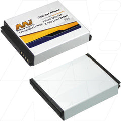 EXTENDED HIGH CAPACITY PDA BATTERY