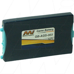 ELECTRONIC GAME BATTERY FOR NINTENDO GAMEBOY ADVANCE SP