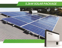 5.2kW Solar Package incl. LG Chem Battery 6.5kWh