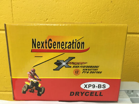 Picture of Next Generation Extreme AGM Motorcycle Battery