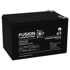 Lithium ION (LiFePo4) Fusion 12v 15AH Deep Cycle Battery