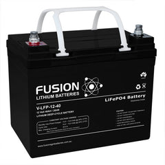Lithium ION (LiFEPo4) Fusion 12V 40AH Deep Cycle Battery