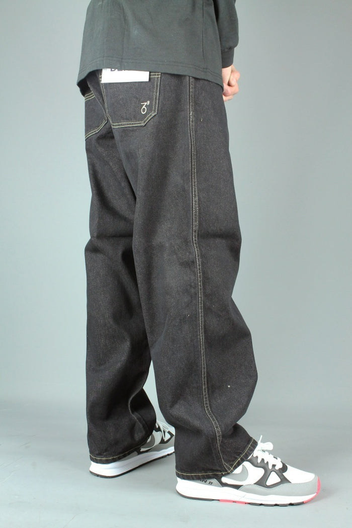 194 Loose Fit Denim Jeans (Black)