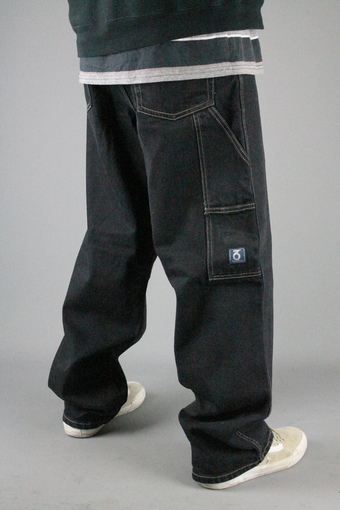 253 Carpenter Loose Fit Denim Jeans (Black)