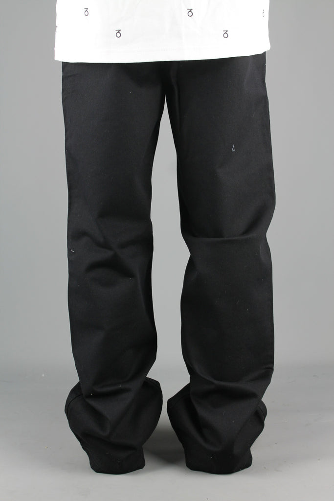 BD001 Loose Fit Chino Jean Pants (Black)