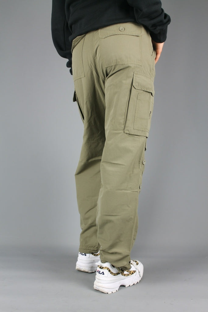 BL129 Loose Fit Cargo Pants (Beige)