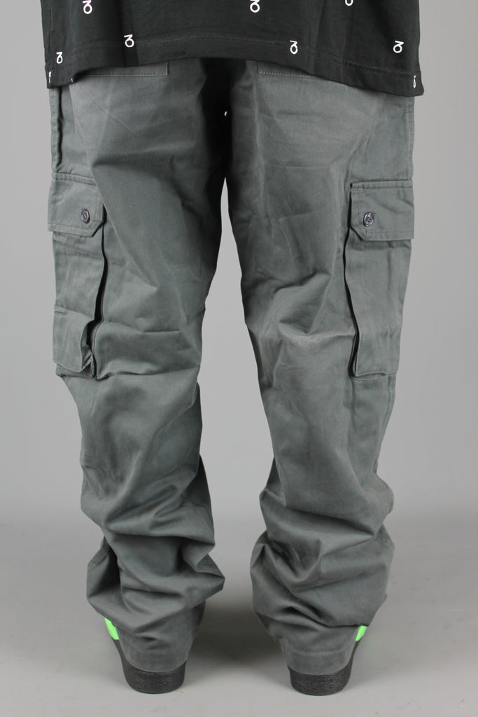 Chino Cargo Work Pants (Charcoal)