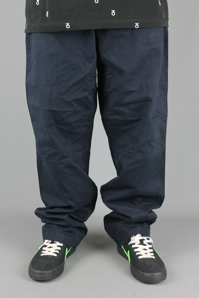 Chino Utility Work Pants (Dark Navy)