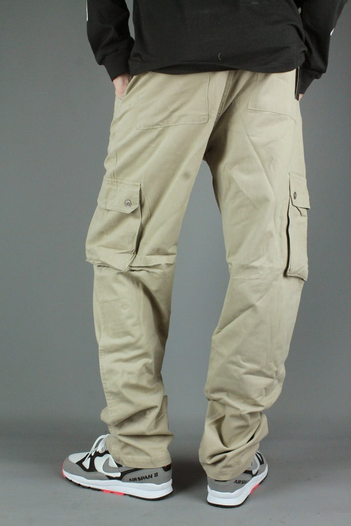 Chino Cargo Work Pants (Light Sand)