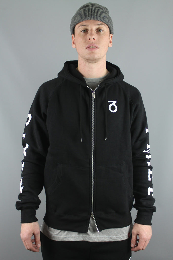 Team Zip Up Hoody (Black)