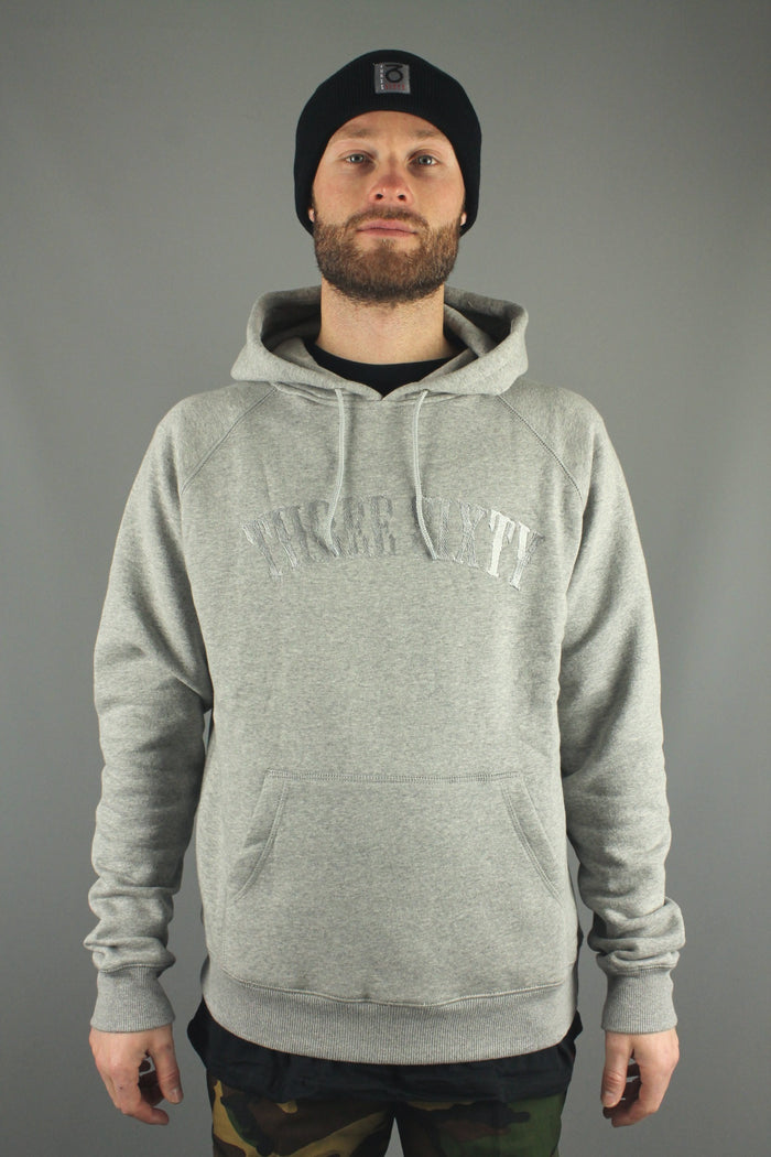 Signature EMB P/O Hoody (Heather Grey)