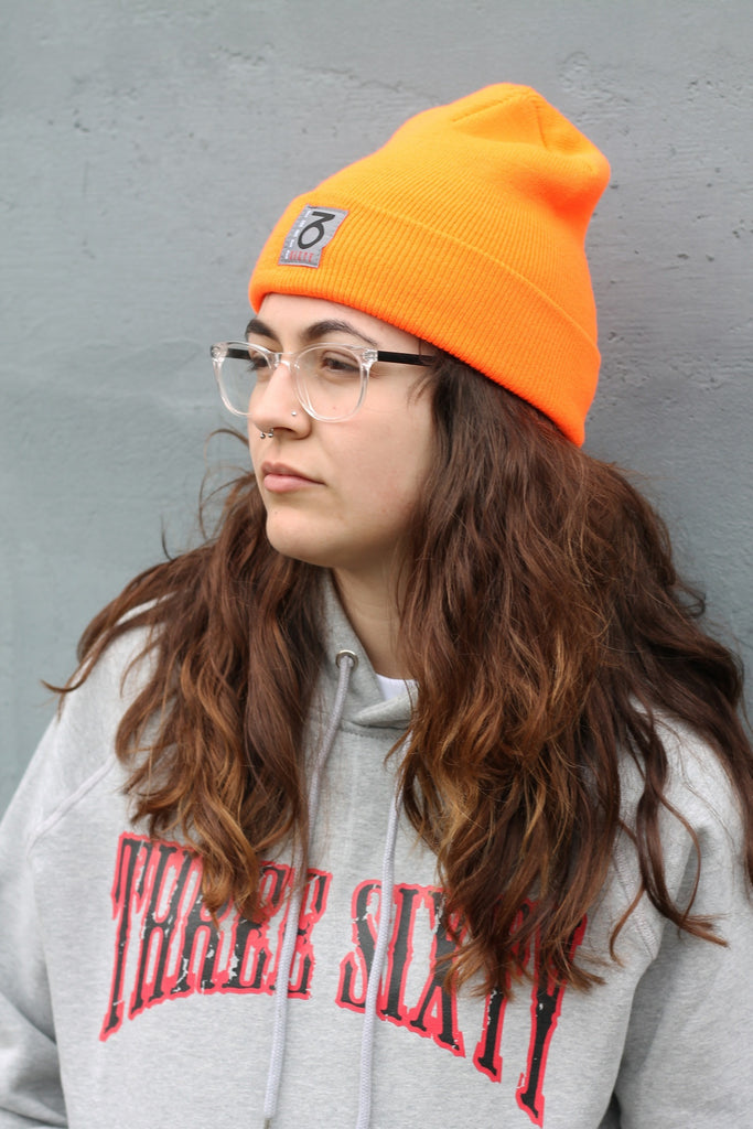 OG Woven Beanie (Safety Orange)