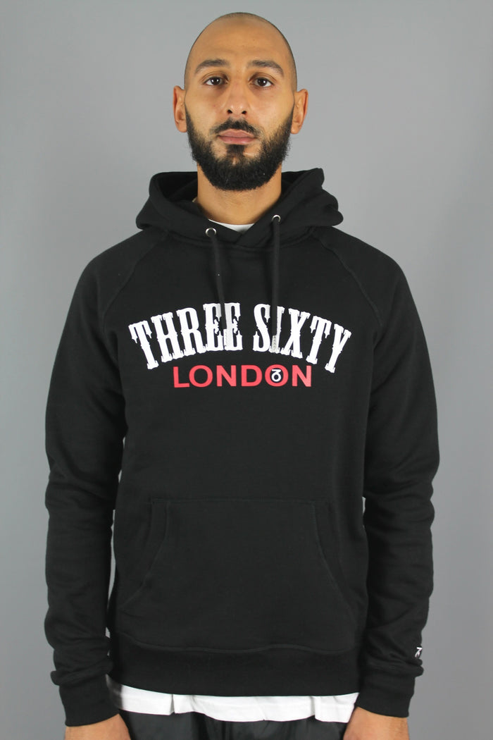 Origin P/O Hoody (Black)