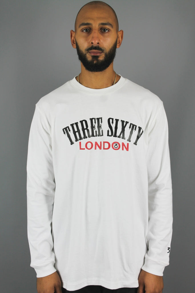 Origin Longsleeve T-Shirt (White)