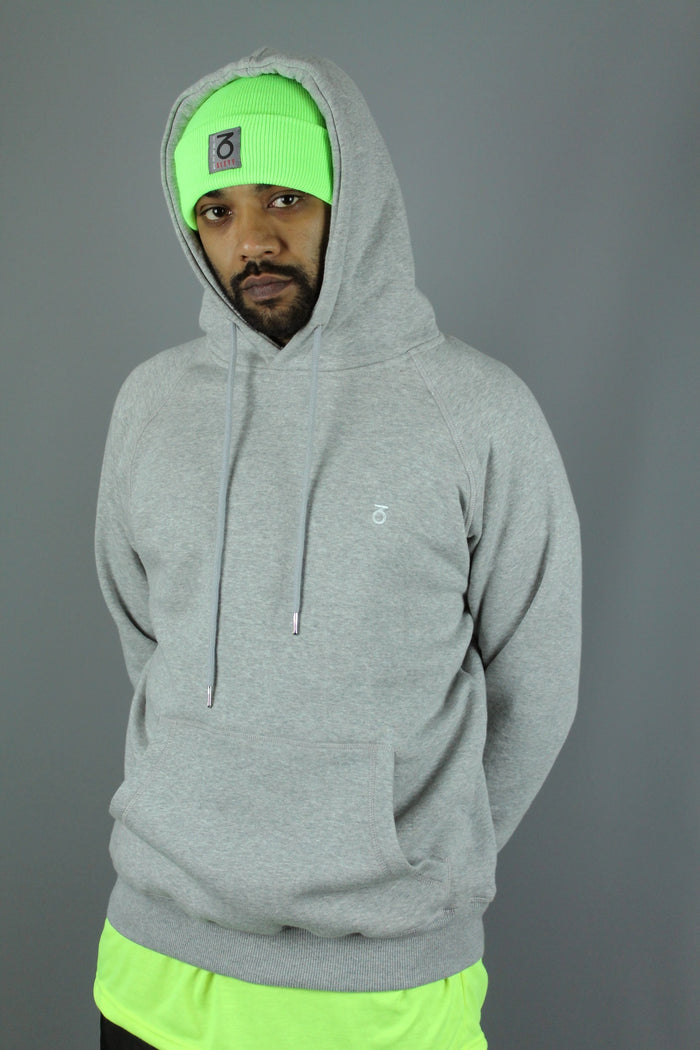 Essential P/O Hoody (Heather Grey)