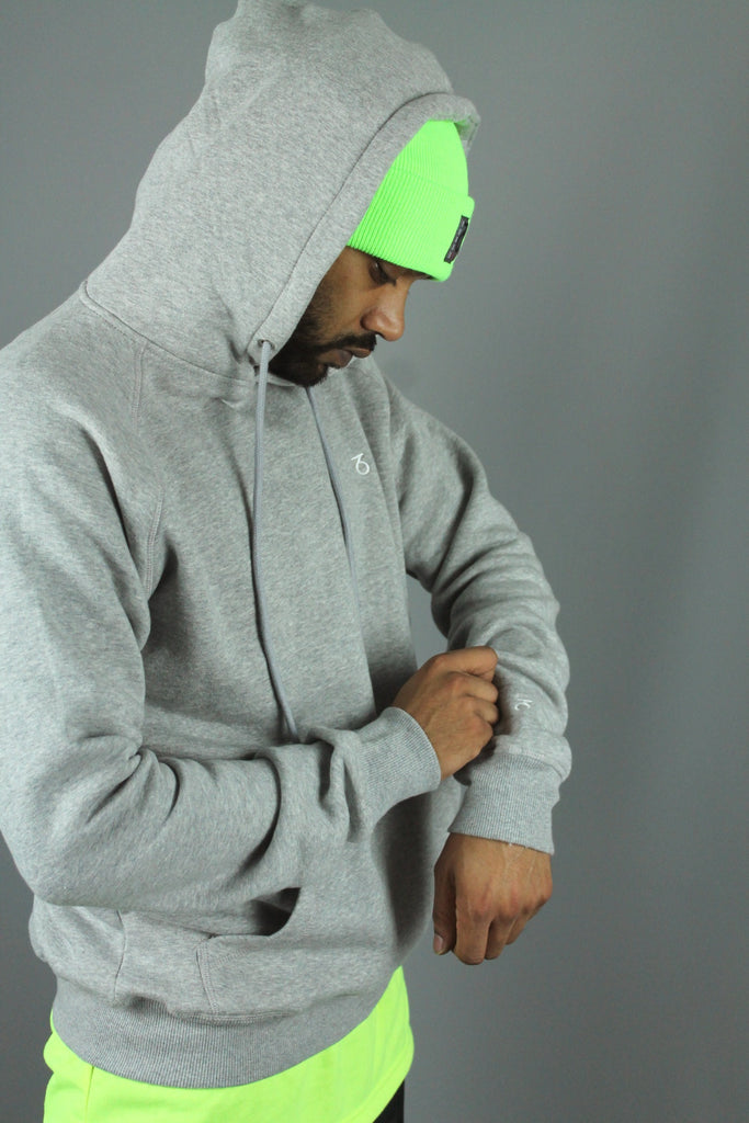 Essential P/O Hoodie (Heather Grey)