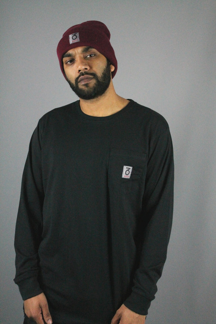 OG Pocket Longsleeve T-Shirt (Black)