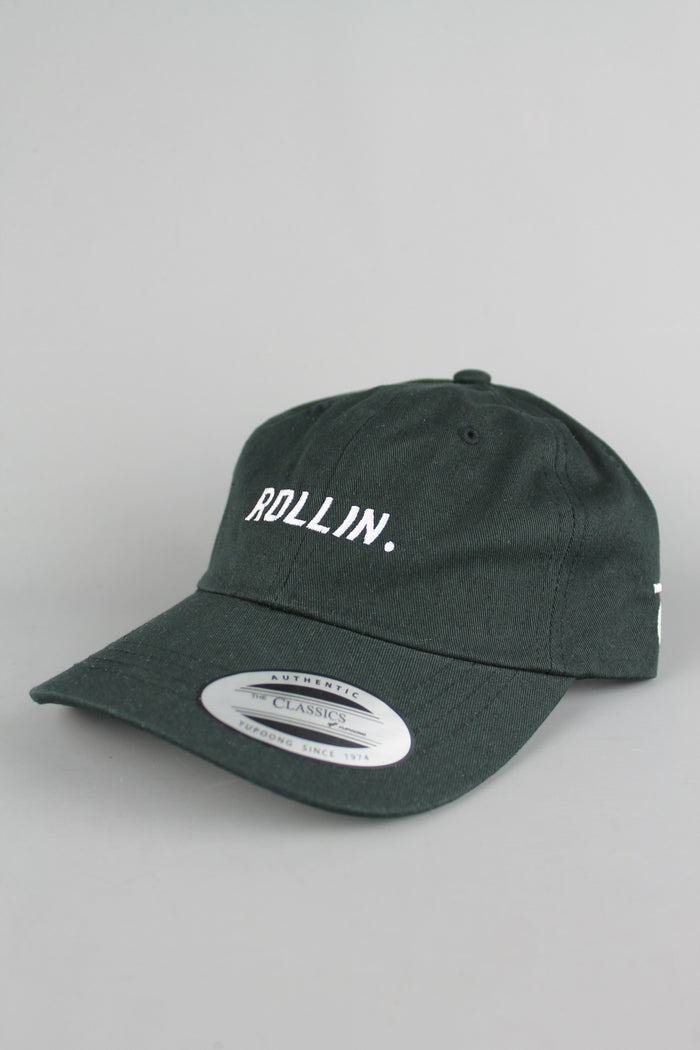 Rollin 6-Panel Baseball Cap (Black)
