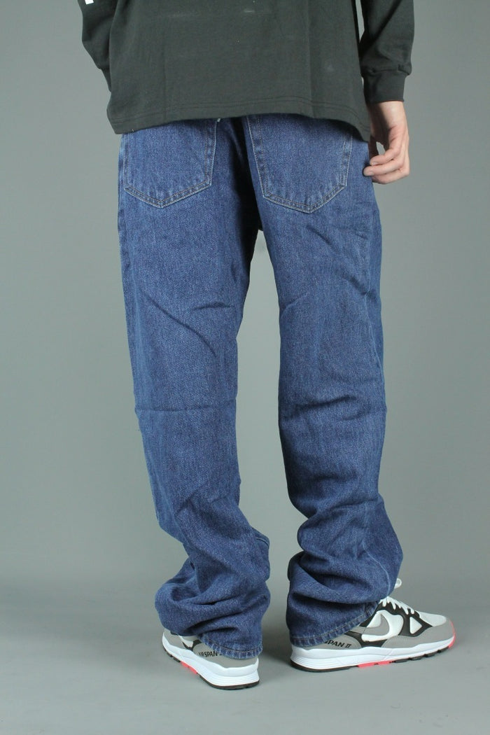 M500 Loose Fit Denim Jeans (Dark Stonewash)