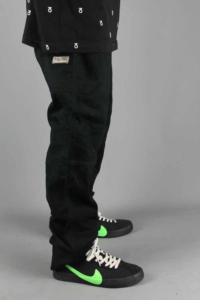 M720 Chino Utility Work Pants (Black)