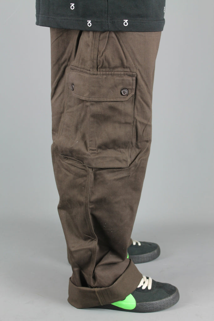 M800 Chino Cargo Work Pants (Chocolate Brown)