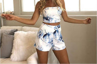 2 Piece Floral Short Set