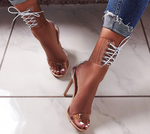 Ankle Lace Heels