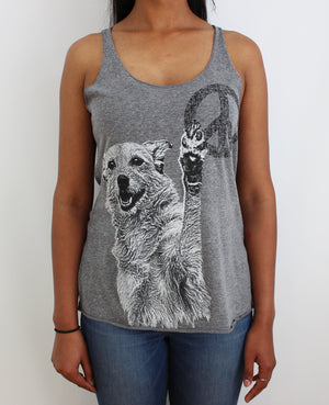 Peace Dog Racerback