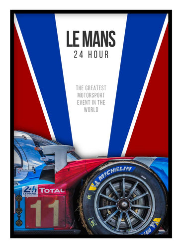 24h Le Mans Poster Hidden Prints