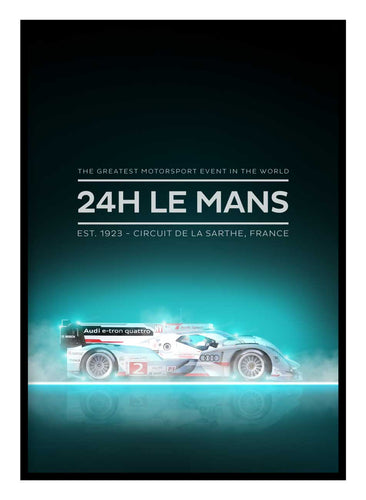 Le Mans 24 Poster Hidden Prints