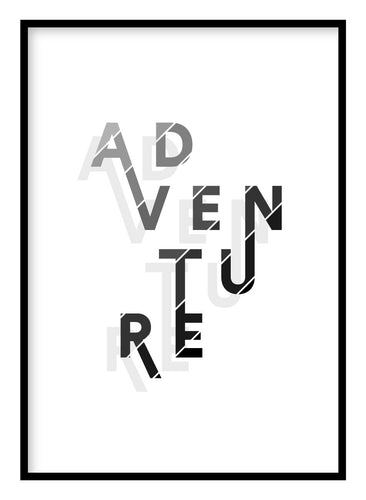 Adventure Poster Hidden Prints
