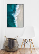 Load image into Gallery viewer, Beach Waves Poster