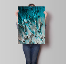 Load image into Gallery viewer, Blue Glass Poster - Hidden Prints