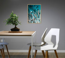 Load image into Gallery viewer, Blue Glass Poster