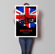 Load image into Gallery viewer, British Grand Prix Poster - Hidden Prints