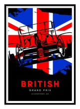 Load image into Gallery viewer, British Grand Prix Poster