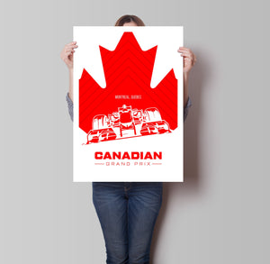 Canadian Grand Prix Poster - Hidden Prints