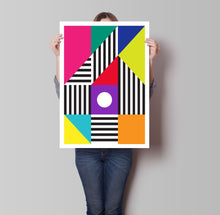 Load image into Gallery viewer, Colour Blocks Poster