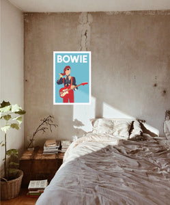 David Bowie Poster - Hidden Prints