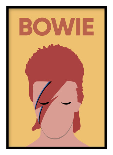 David Bowie Music Poster