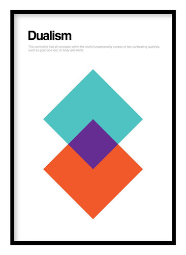 Dualism Poster Hidden Prints
