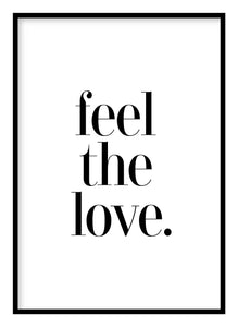Feel The Love Poster