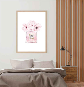 Flowers Perfume Poster