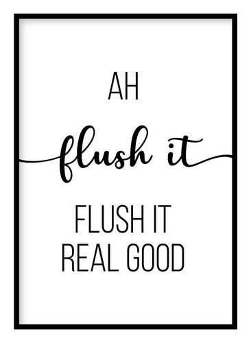 Flush It Poster Hidden Prints