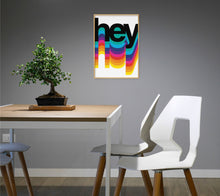 Load image into Gallery viewer, Hey Colours Poster - Hidden Prints