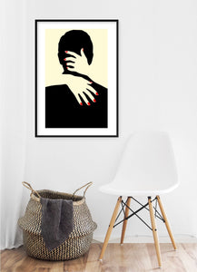 Kissing Poster